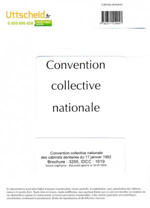 Convention collective nationale cabinet dentaire 2016 - Grille salaire controleur de gestion ...