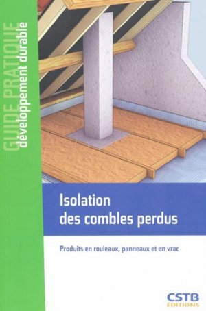 Isolation des combles perdus maxime roger 9782868914798 for Prix isolation combles perdus