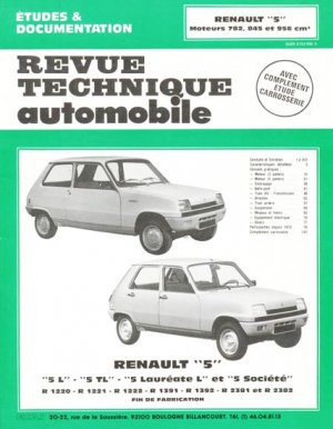 renault 39 39 5 39 39 collectif 9782726831861 etai revue. Black Bedroom Furniture Sets. Home Design Ideas