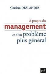 Dernières parutions dans Hors collection, À propos du management et d'un problème plus général