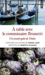 Dernières parutions sur Cuisine italienne, A table avec le commissaire Brunetti