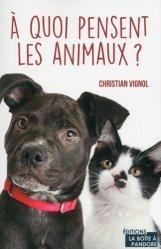 Dernières parutions sur Zoologie, A quoi pensent les animaux ?