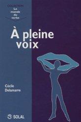 Dernières parutions dans Le monde du verbe, A pleine voix