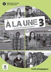 Dernières parutions sur Adolescents, A la une 3 guide pedagogique