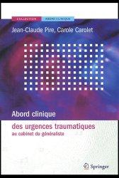 Dernières parutions dans Abord clinique, Abord clinique des urgences traumatiques au cabinet du généraliste