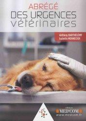 Dernières parutions sur Vétérinaire, Abrégé des urgences vétérinaires