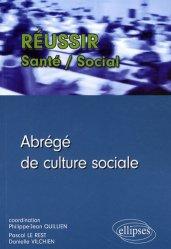 Dernières parutions dans Réussir Santé - Social, Abrégé de culture sociale