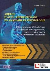 Dernières parutions sur Anatomie - Physiologie, Abrégé d'auto apprentissage en anatomie-physiologie