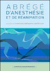 Dernières parutions sur Anesthésie - Réanimation, Abrégé d'anesthésie et de réanimation