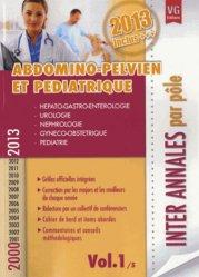 Souvent acheté avec Oncologie - Gériatrie - Santé publique Vol.4/5, le Abdomino-pelvien et pédiatrique 2000 / 2013 Vol.1 / 5