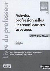 Dernières parutions sur CAP - Bac pro et techno, Activités professionnelles et connaissances associées -  2e Bac pro MELEC 2017