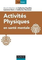 Dernières parutions dans Psychothérapies, Activités physiques en santé mentale