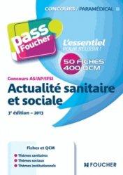 Souvent acheté avec Concours Infirmier Entrée en IFSI, le Actualité sanitaire et sociale