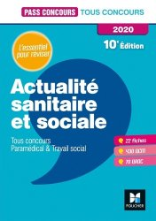Dernières parutions dans Pass'Concours, Actualité sanitaire et sociale 2020