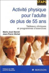 Dernières parutions dans le point en reeducation, Activité physique pour l'adulte de plus de 55 ans
