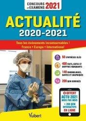 Dernières parutions sur Concours administratifs, Actualité 2020-2021