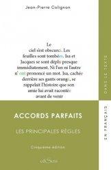 Dernières parutions sur Langues et littératures étrangères, Accords parfaits