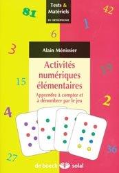 Souvent acheté avec L'intervention précoce en autisme, le Activités numériques élémentaires