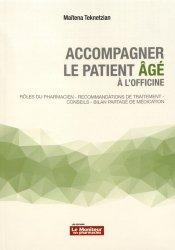 Dernières parutions sur Pharmacie, Accompagner le patient âgé à l'officine