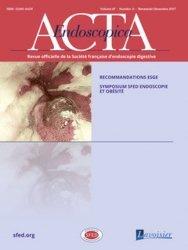 Dernières parutions sur Hépato - Gastroentérologie - Proctologie, Acta Endoscopica N° 6 Volume 47