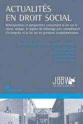 Dernières parutions sur Aide sociale, Actualités en droit social