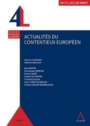 Dernières parutions sur Droit communautaire, Actualités du contentieux européen