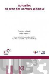 Dernières parutions sur Droit des obligations, Actualités en droit des contrats spéciaux