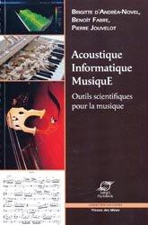 Dernières parutions dans Les cours, Acoustique, Informatique, Musique