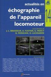 Dernières parutions sur Echographie, Actualités en échographie de l'appareil locomoteur tome 14