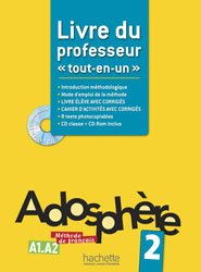 Souvent acheté avec ABC DELF Junior Scolaire A1, le Adosphère 2 - Livre du professeur + CD-Rom encarté