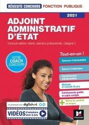 Dernières parutions sur Concours administratifs, Adjoint Administratif d'Etat - Catégorie C