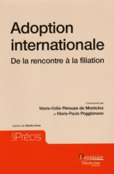 Dernières parutions dans Les Précis, Adoption internationale