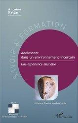 Dernières parutions dans Savoir et formation, Adolescent dans un environnement incertain. Une expérience libanaise https://fr.calameo.com/read/005370624e5ffd8627086