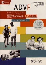 Nouvelle édition ADVF - Préparation au CCP 1, 2, 3