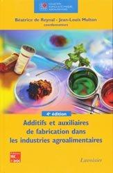 Dernières parutions sur Techniques et procédés, Additifs et auxiliaires de fabrication dans les industries agroalimentaires