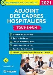 Dernières parutions dans Concours fonction publique, Adjoint des cadres hospitaliers