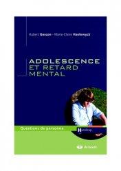 Dernières parutions dans Questions de personne Handicap, Adolescence et retard mental