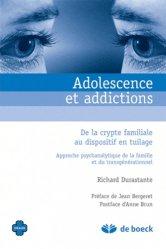 Dernières parutions dans Oxalis, Adolescence et addictions