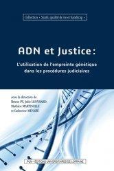 Dernières parutions sur Procédure pénale, ADN et justice