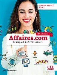 Dernières parutions sur Français spécialisé, Affaires.com niveau avancé B2-C1