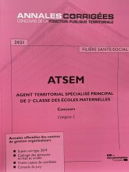 Dernières parutions dans Annales corrigées, Agent territorial spécialisé principal de 2e classe des écoles maternelles