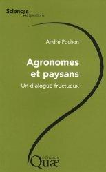 Souvent acheté avec Agricultures singulières, le Agronomes et paysans Un dialogue fructueux