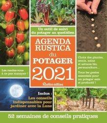 Dernières parutions sur Potager et verger, Agenda Rustica du potager. Edition 2021