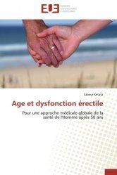 Dernières parutions sur Urologie - Andrologie, Age et dysfonction érectile