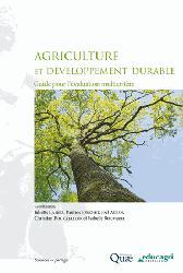 Dernières parutions dans Sciences en partage, Agriculture et développement durable : Guide pour l'évaluation multicritère