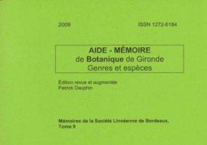 Souvent acheté avec Les Gyrophaena (Coléoptères Staphylinidae) et les champignons, le Aide-Mémoire de Botanique de Gironde