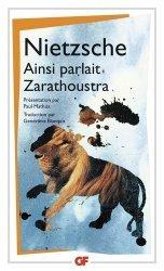 Dernières parutions dans GF, Ainsi parlait Zarathoustra