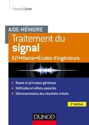 Dernières parutions sur Théorie et traitement du signal, Aide-mémoire - Traitement du signal