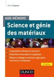 Dernières parutions sur Résistance des matériaux, Aide-mémoire - Science et génie des matériaux