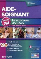 Souvent acheté avec Concours Infirmier - Entrée en IFSI, le Aide-soignant - Le concours d'entrée